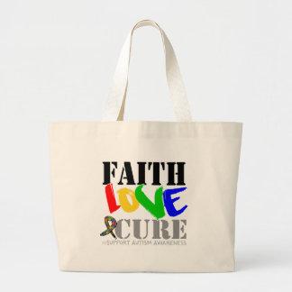 Curación del amor de la fe del autismo bolsas