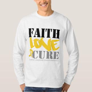 Curación del amor de la fe del cáncer de la niñez playera