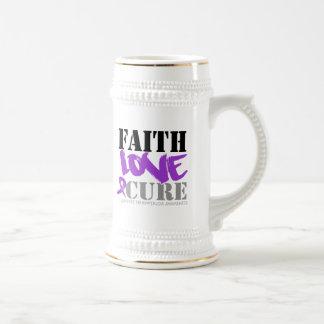 Curación del amor de la fe del Fibromyalgia Taza De Café