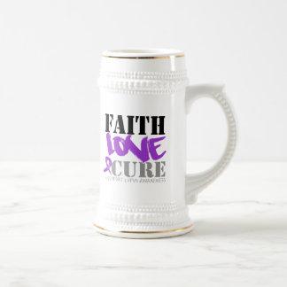 Curación del amor de la fe del lupus taza