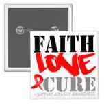 Curación del amor de la fe del SIDA Pin