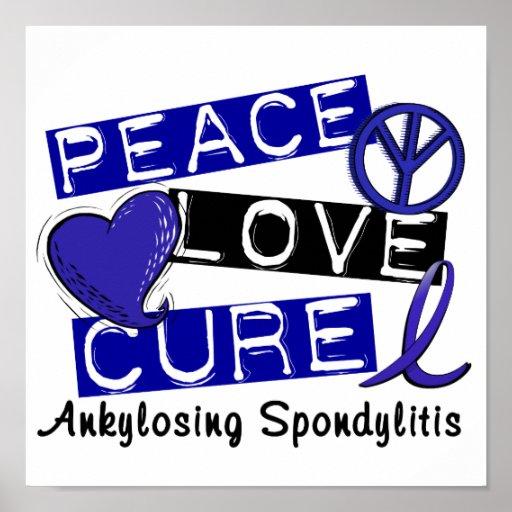 Curación del amor de la paz Ankylosing Spondylitis Impresiones