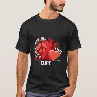Curación del amor de la paz de AIDS/HIV Playera