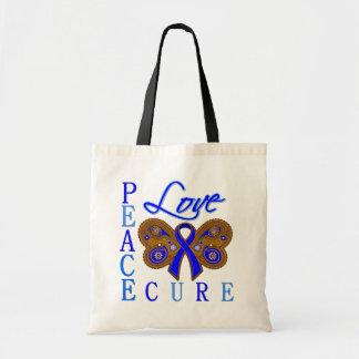 Curación del amor de la paz de la mariposa del cán bolsa