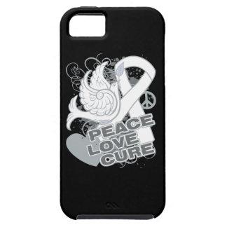 Curación del amor de la paz del cáncer de hueso iPhone 5 Case-Mate coberturas