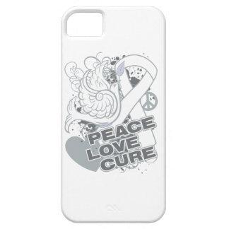 Curación del amor de la paz del cáncer de hueso iPhone 5 fundas