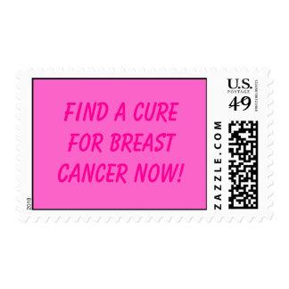 Curación del cáncer de pecho sello