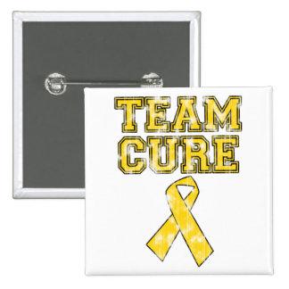 Curación del equipo (amarillo) pin