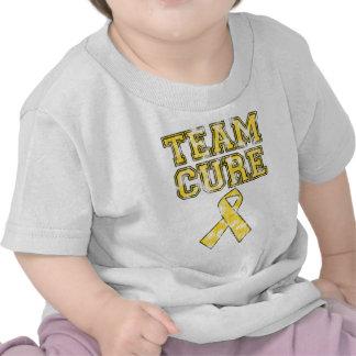 Curación del equipo (amarillo) camiseta