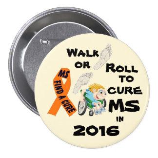 Curación del paseo de 2016 Ro1l Pin Redondo De 3 Pulgadas
