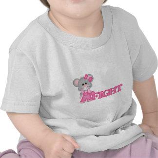 Curación del ratón de Think Pink Camiseta