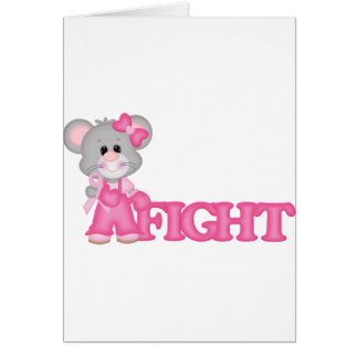 Curación del ratón de Think Pink Tarjetas