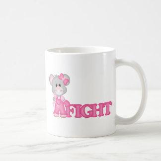 Curación del ratón de Think Pink Taza De Café