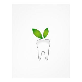 Curación dental plantillas de membrete