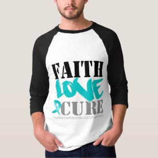 Curación intersticial del amor de la fe de la remeras