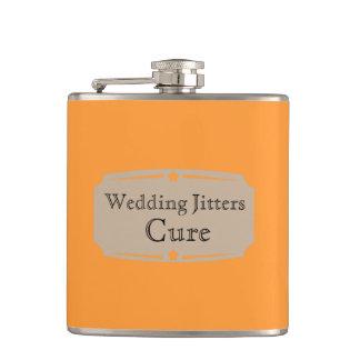 Curación líquida de las inquietudes del boda del v petaca