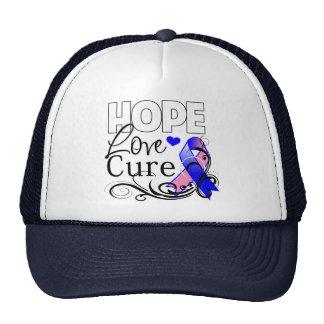 Curación masculina del amor de la esperanza del cá gorras