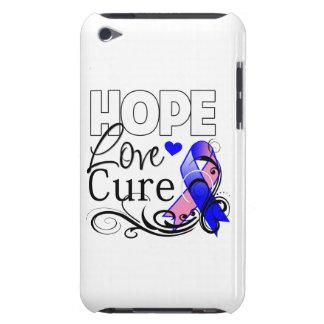 Curación masculina del amor de la esperanza del cá iPod Case-Mate coberturas
