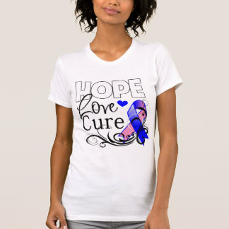 Curación masculina del amor de la esperanza del cá tee shirts