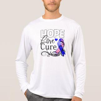 Curación masculina del amor de la esperanza del cá camiseta