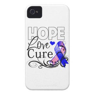 Curación masculina del amor de la esperanza del Case-Mate iPhone 4 protectores