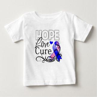Curación masculina del amor de la esperanza del t shirt
