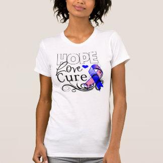 Curación masculina del amor de la esperanza del camisetas