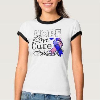 Curación masculina del amor de la esperanza del camiseta
