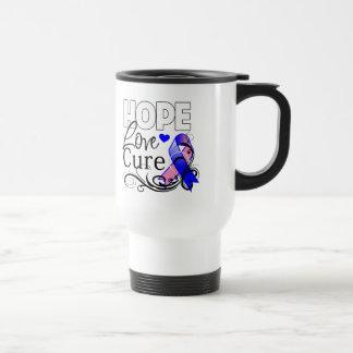 Curación masculina del amor de la esperanza del taza térmica