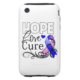 Curación masculina del amor de la esperanza del tough iPhone 3 carcasas