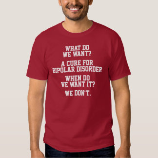 Curación para la camisa del desorden bipolar
