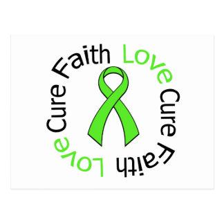 Curación v2 del amor de la fe de la enfermedad de tarjetas postales