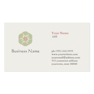 Curador holístico natural de la salud del tarjetas de visita