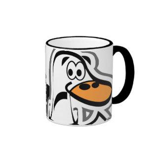 Curandero certificado taza de café