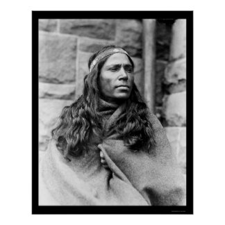 Curandero indio 1917 de Kikapú Impresiones