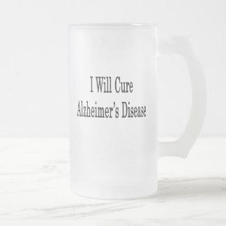 Curaré la enfermedad de Alzheimer Tazas De Café