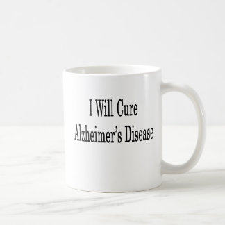 Curaré la enfermedad de Alzheimer Taza De Café