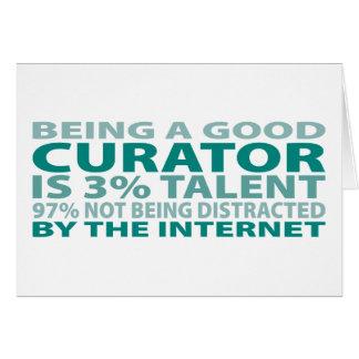Curator 3% Talent Card