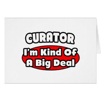 Curator ... Big Deal Card