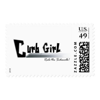 Curb Girl Postage
