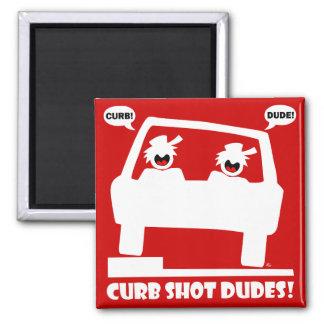 CURB SHOT DUDE! FRIDGE MAGNETS