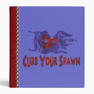 Curb Your Spawn 3 Ring Binder