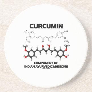 Curcumin Component Of Indian Ayurvedic Medicine Beverage Coasters