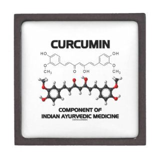 Curcumin Component Of Indian Ayurvedic Medicine Jewelry Box