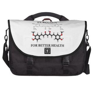Curcumina para una mejor salud (molécula química) bolsas para ordenador
