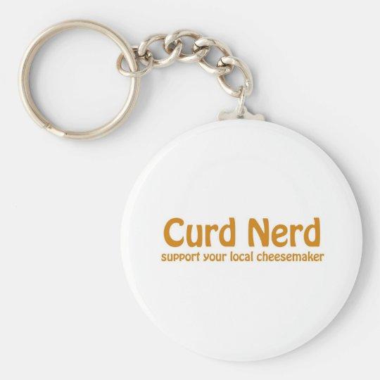 Curd Nerd Keychain