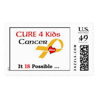 Cure 4 Kids Cancer - GRP (It IS Possible) Stamps