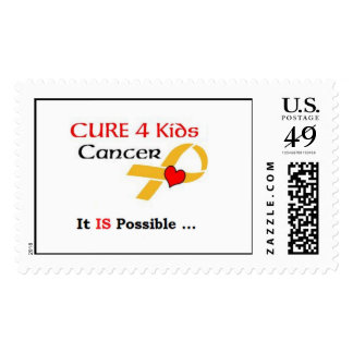 Cure 4 Kids Cancer - GRP (It IS Possible) Postage
