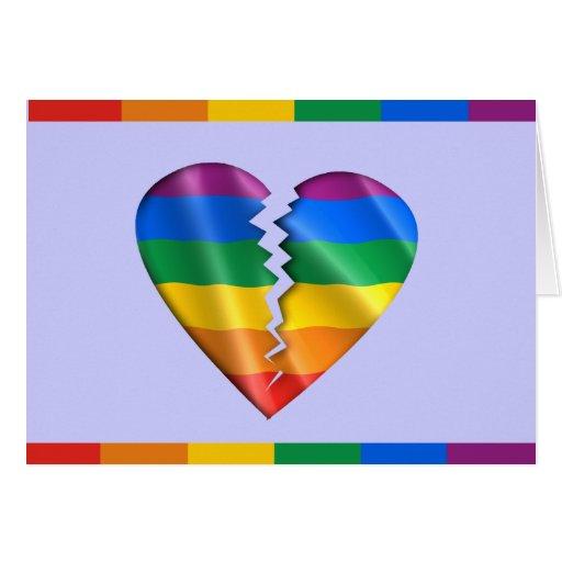 Cure a la comunidad gay felicitación