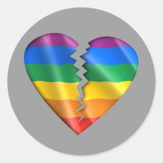 Cure a la comunidad gay pegatinas